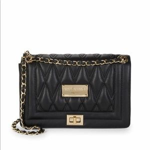 Valentino by Mario Valentino Quilted Shoulder Bag
